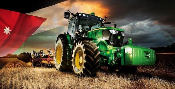 Türkiye'den Ürdün'e traktörler