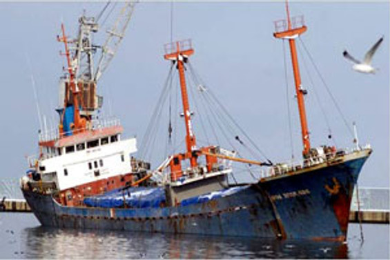 Malta'da Türk gemisi battı