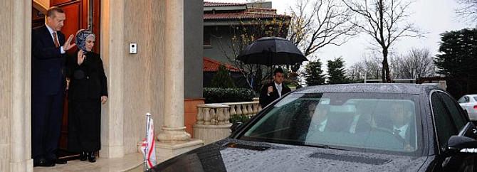 Erdoğan'a bir günde iki ziyaret