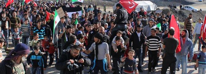 Türkiye'deki Suriyeli sayısı 200 bine tırmanıyor