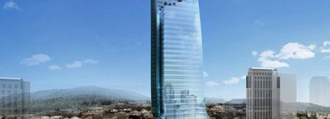 400 milyon liralık kulenin inşaatı başladı
