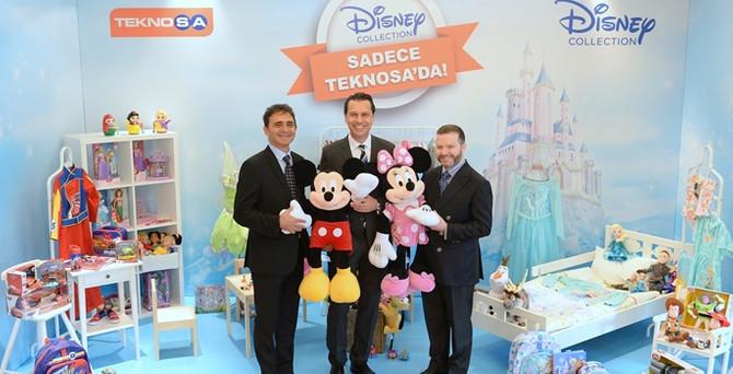 Disney Collection, TeknoSA ile ağustosta Türkiye'de
