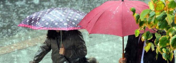 Güney ve doğu kesimler yağışlı