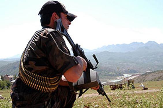 Bingöl'de bir terörist 'etkisiz'