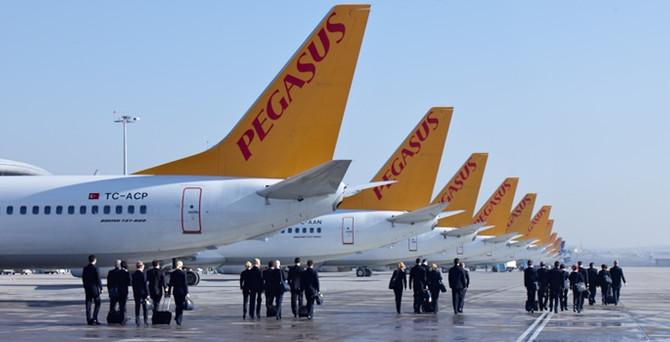 """Pegasus, Antalya'dan """"yurt içi 3 yeni noktaya"""" uçacak"""