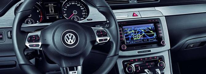 Volkswagen'i dolu vurdu