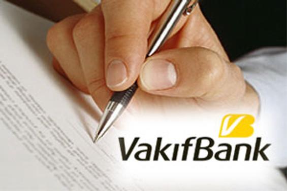 Vakıfbank, sendikasyon için yetki verdi