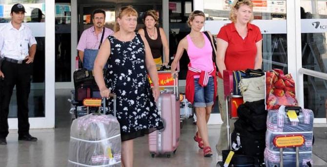 Ukraynalı turistlerin sayısı arttı