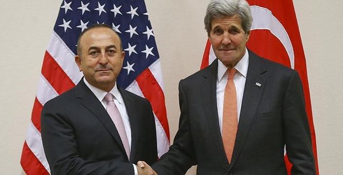 Çavuşoğlu ve Kerry 'iade'yi görüştü