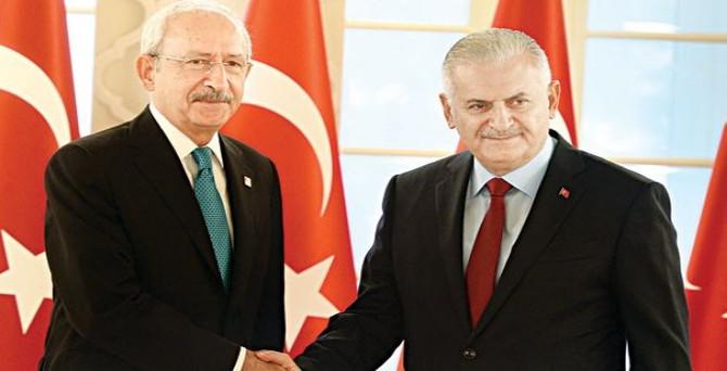Başbakan Yıldırım CHP'ye gidecek