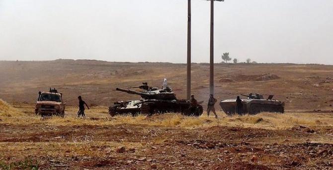 Kürt gruplar Haseke'de ilerliyor