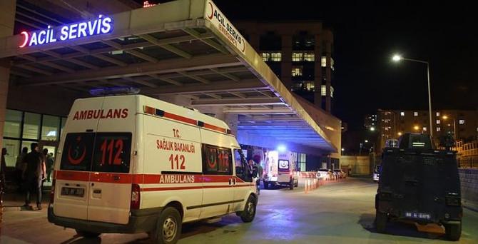 Diyarbakır'da terör saldırısı: 1 yaralı