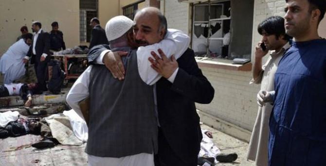 70 kişinin öldüğü saldırıyı Taliban üstlendi