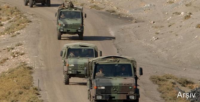 Siirt'te askeri araç devrildi: 1 şehit, 2 yaralı