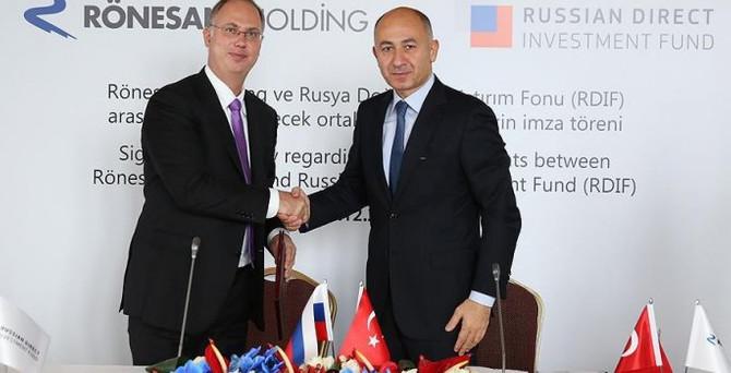 Rönesans Holding, Rus Fonu'yla anlaşma imzaladı