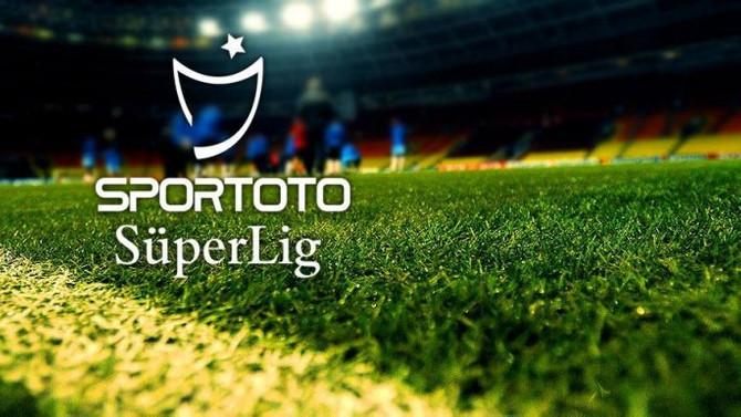 Süper Lig'in 2 haftalık programı açıklandı