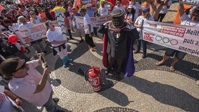 Rio olimpiyatlarında siyasi gösterilere izin