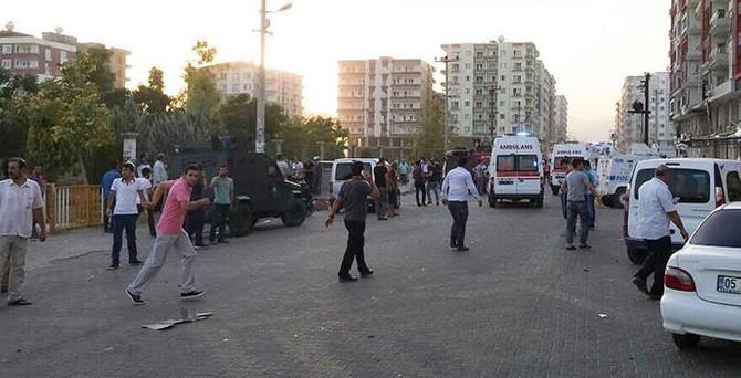 Mardin ve Diyarbakır'da patlama: 8 ölü, 42 yaralı