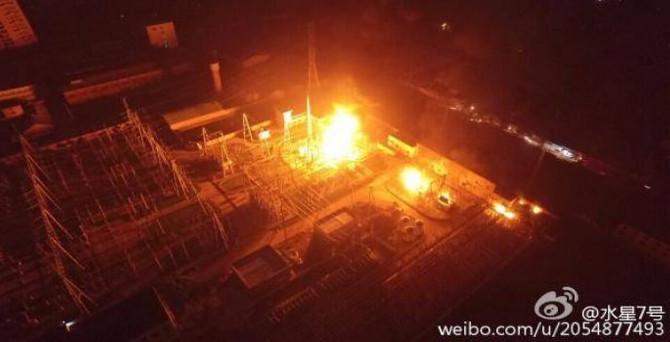 Çin'de enerji santralinde patlama: 21 ölü