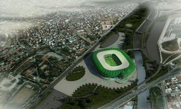 Bursa Arena'ya 'timsah kafası'