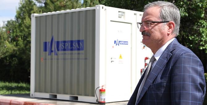 Aspilsan, enerji depolama sistemi geliştirdi