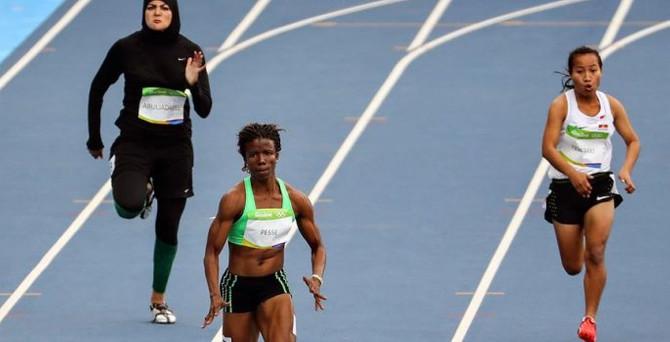 Olimpiyatlarda Abuljadayel tarihe geçti