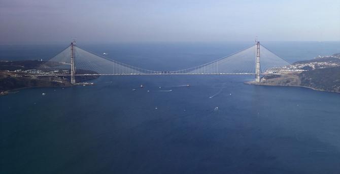 Dünyanın en geniş köprüsü için geri sayım