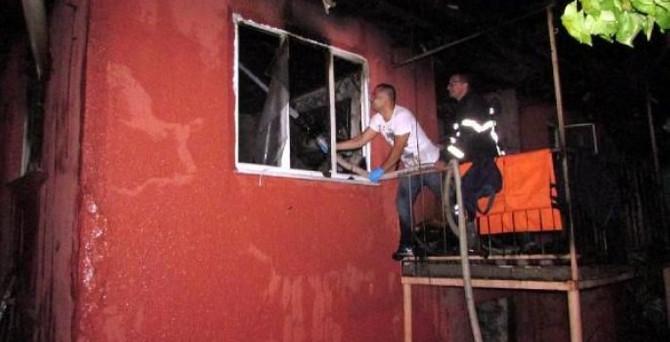 Afyon'da yangın faciası