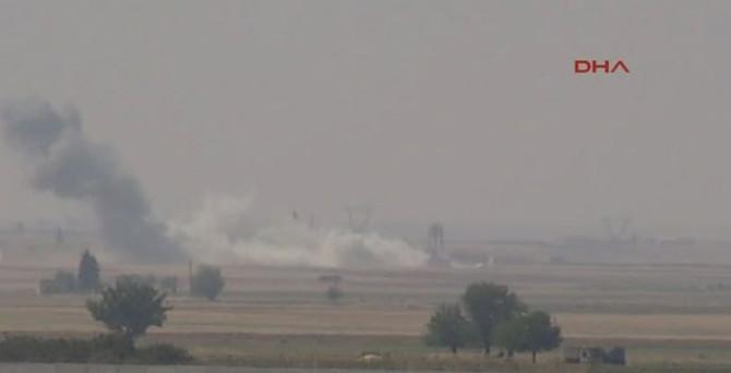 IŞİD, havadan ve karadan vuruldu