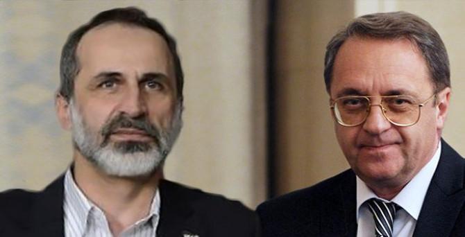 Rusya, Suriyeli muhalifler ile görüştü