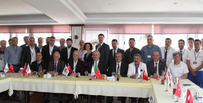 Tarihi Çarşılar Federasyonu Onursal Başkanlığına Recep Altepe seçildi