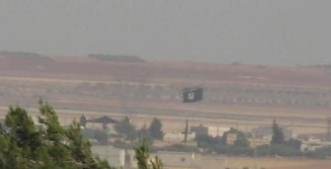 IŞİD bayrağı indirildi, 'geri dönün' çağrısı yapıldı