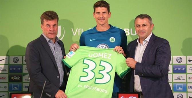 Gomez, Wolfsburg formasını giydi