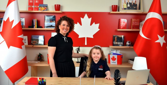 Türkiye'de ilk Kanada ilkokulu açıldı