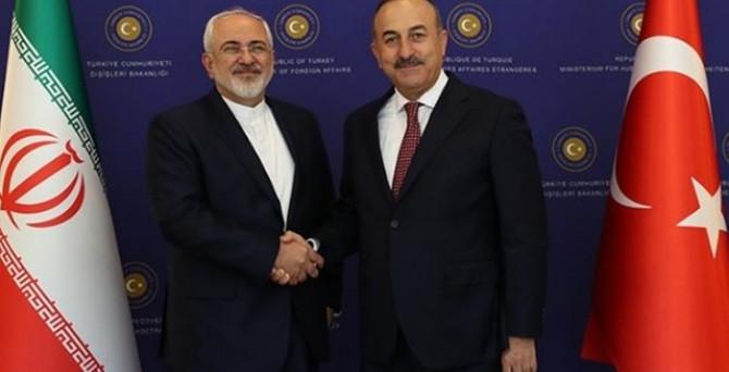 Çavuşoğlu, ziyaret öncesi İran'a uğradı