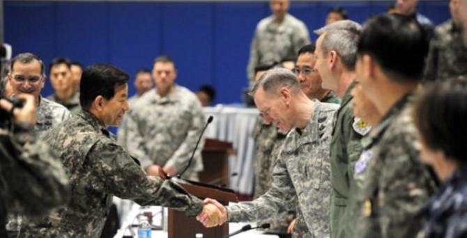 Güney Kore ve ABD'den ortak tatbikat