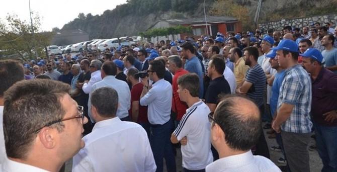 Gemlik Gübre Fabrikası'nda grev