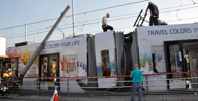 Bağcılar-Kabataş tramvay seferleri normale döndü