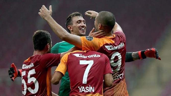 Galatasaray'dan '90'ıncı dakika' galibiyeti