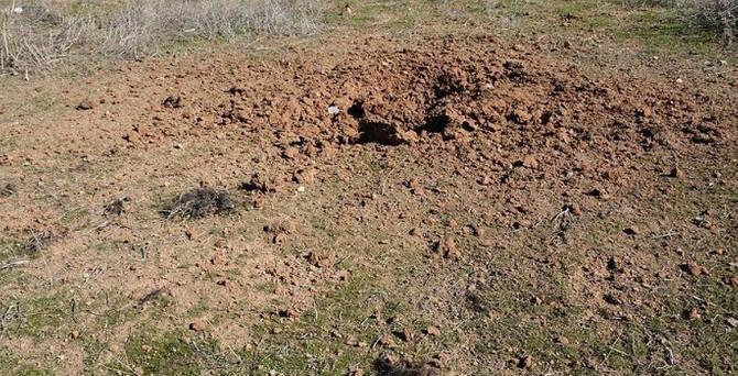 Havan mermisi atıldı: 3 asker yaralı