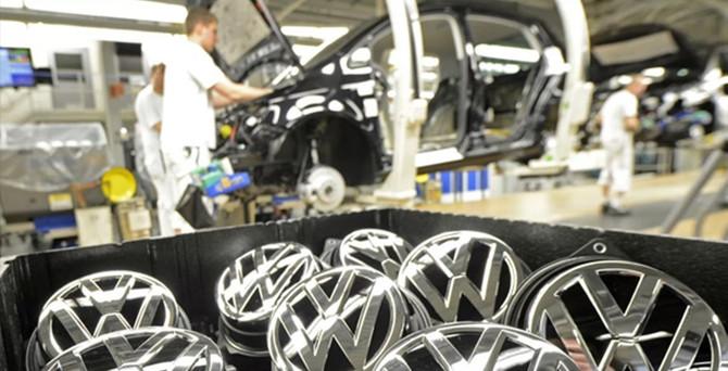 Volkwagen'de üretim krizi sona erdi