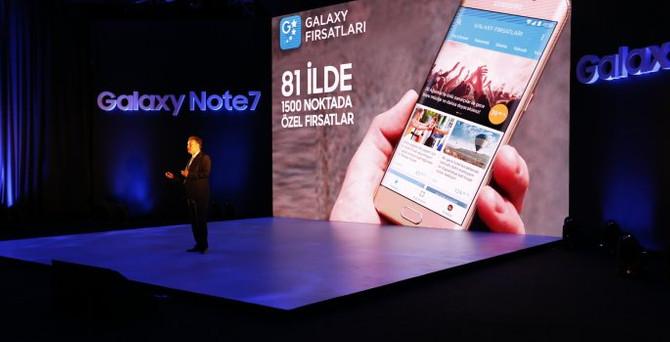 Galaxy Note7 Türkiye'de satışa sunuluyor
