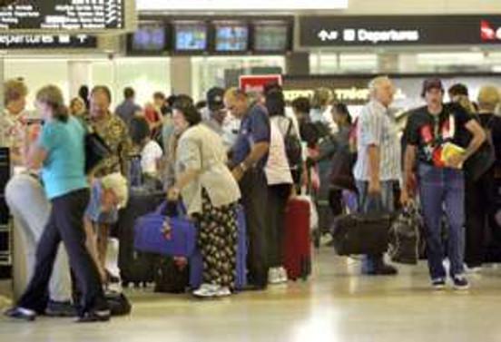 Antalya'ya gelen turist sayısı 8 milyonu geçti