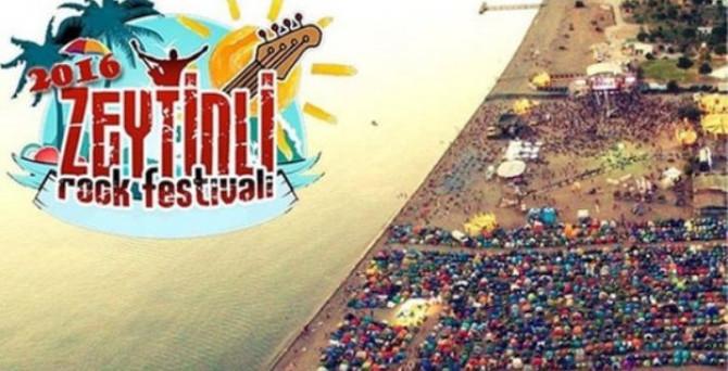'Zeytinli Rock Festivali' başladı