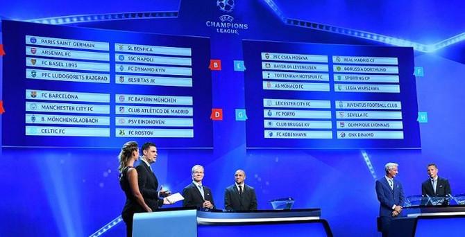 Beşiktaş'ın Şampiyonlar Ligi'ndeki fikstürü