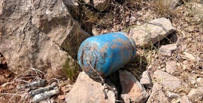 Lice'de 700 kilo patlayıcı imha edildi