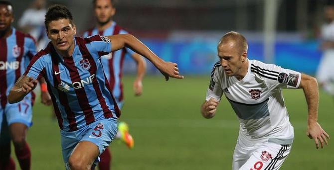 Trabzonspor Gaziantep'te kayıp