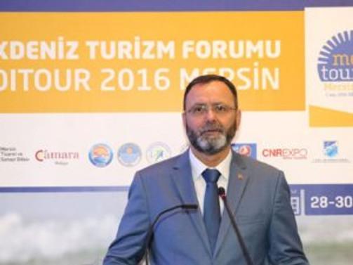 Akdeniz Turizm Forumu'nun ev sahibi Mersin