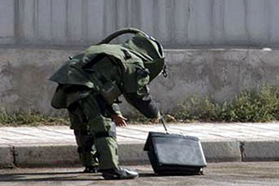 Şüpheli paketten patlayıcı çıktı