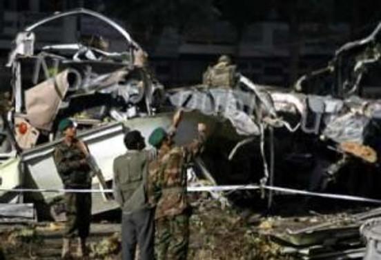 Afganistan'da düğün otobüsü mayına çarptı